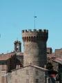 La Rocca e sullo sfondo il Campanile Comunale