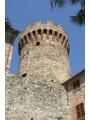 La Rocca vista dalla Porta del Sole