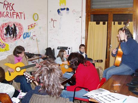 Immagine del centro di aggregazione giovanile di Ficulle