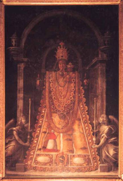 il quadro della madonna di Loreto